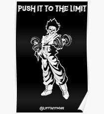 Goku Monster Gym Poster