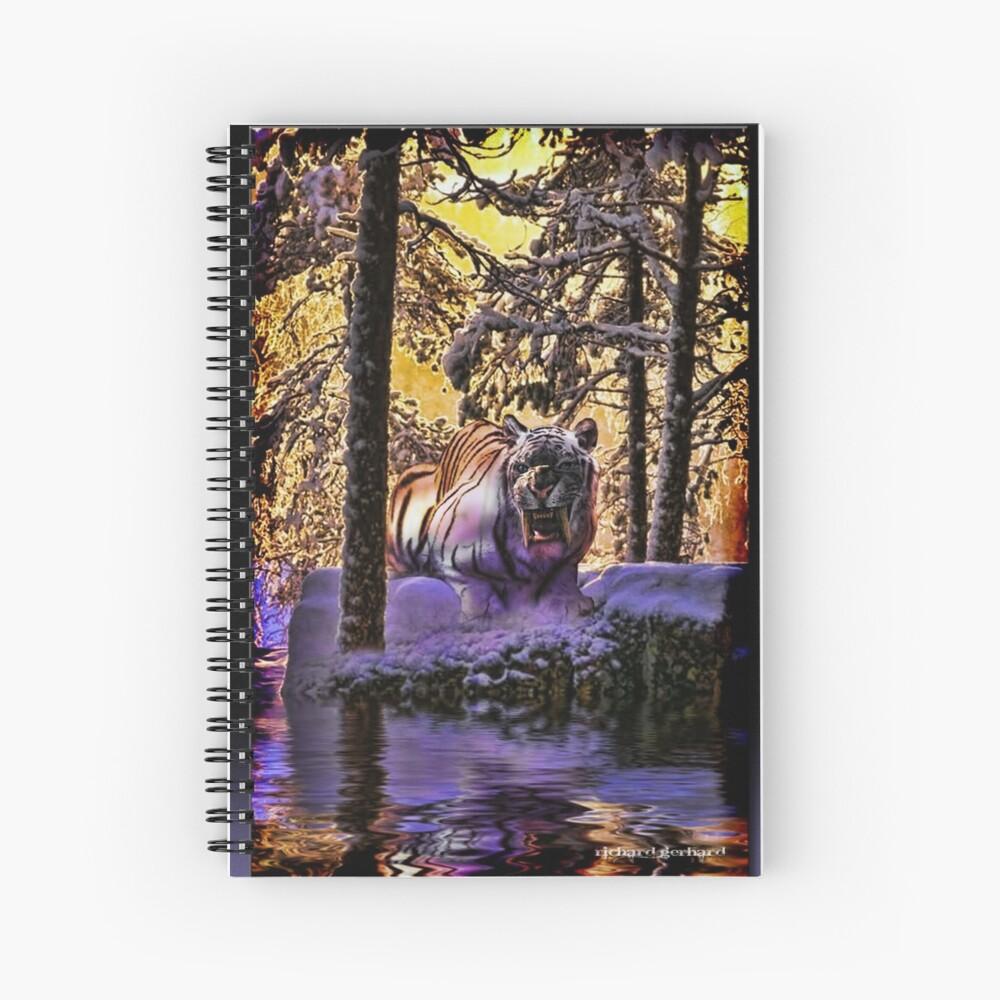 El Sabertooth Cuaderno de espiral