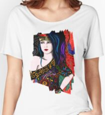 Slightly Psychedelia Women's Relaxed Fit T-Shirt