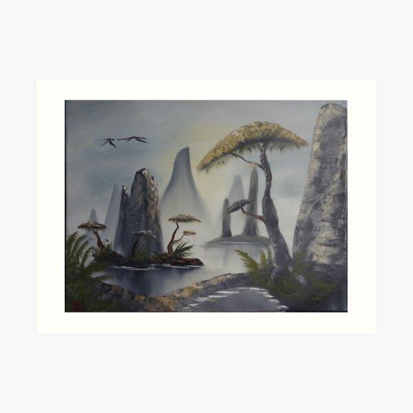 Azura's Coast Art Print