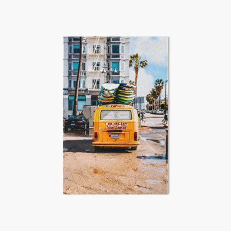 Combi van surf 2 Art Board Print
