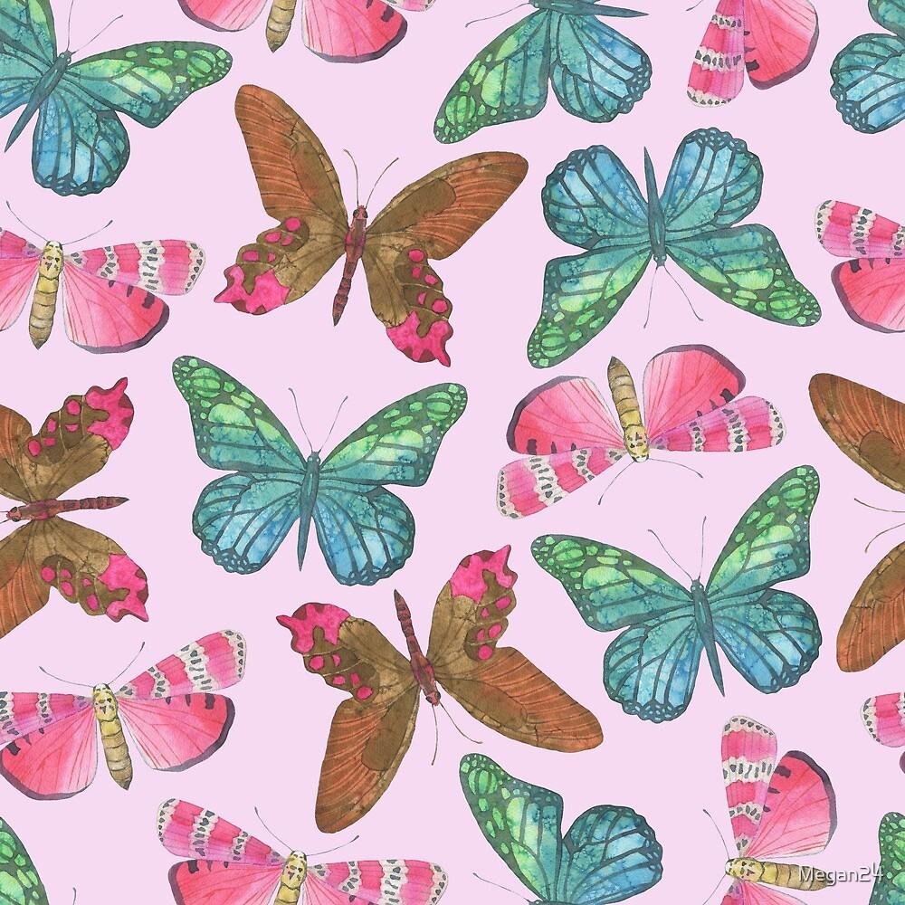 Multi Color Butterflies by Megan24