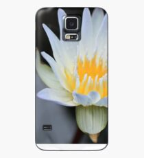 White Water Lily Aglow Case/Skin for Samsung Galaxy