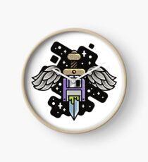 wings floppy sword Clock