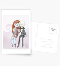 Postales -Jack y Sally-