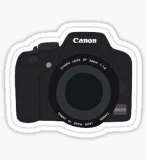 Cannon Camera Sticker