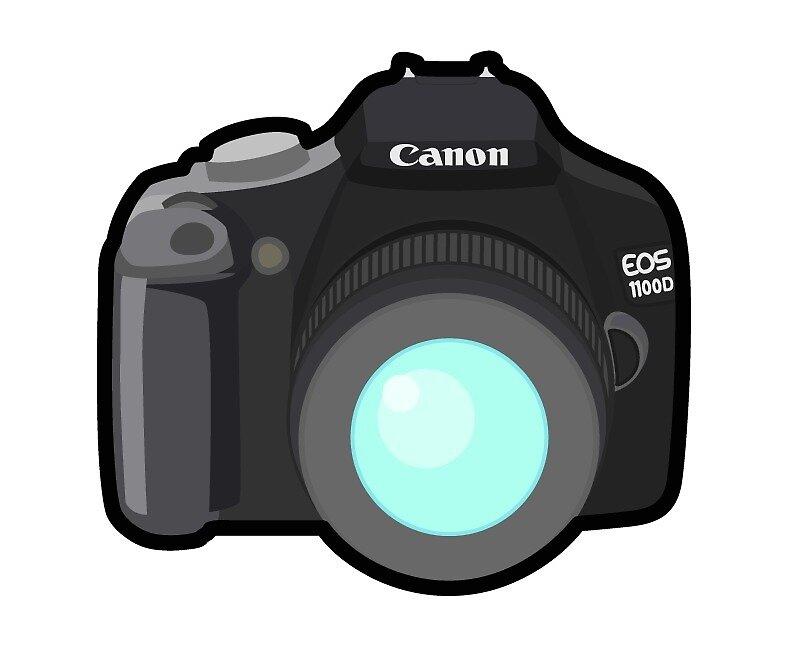 Cannon Camera Sticker by MiniMast3r
