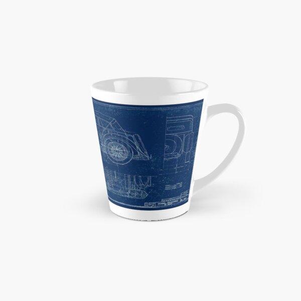 MG TC Blueprint Diagram Tall Mug