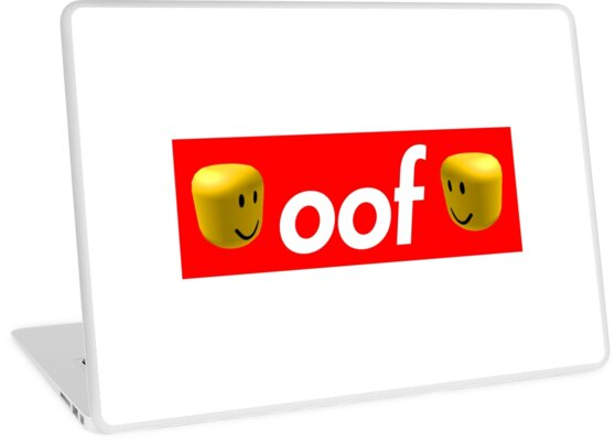 'Roblox Oof!' Laptop Skin by hypetype