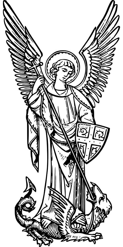 Archangel Michael by PZAndrews