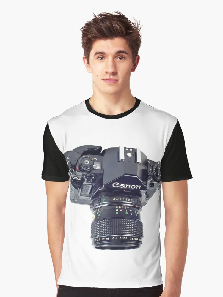 Canon A-1 Graphic T-Shirt Front
