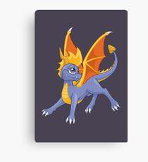 Dragon, my childhood friend Canvas Print