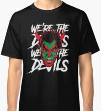 New Jersey Devils Black David Puddy T-shirt Classic T-Shirt