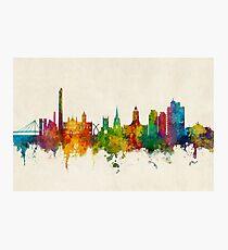 Northampton England Skyline Photographic Print