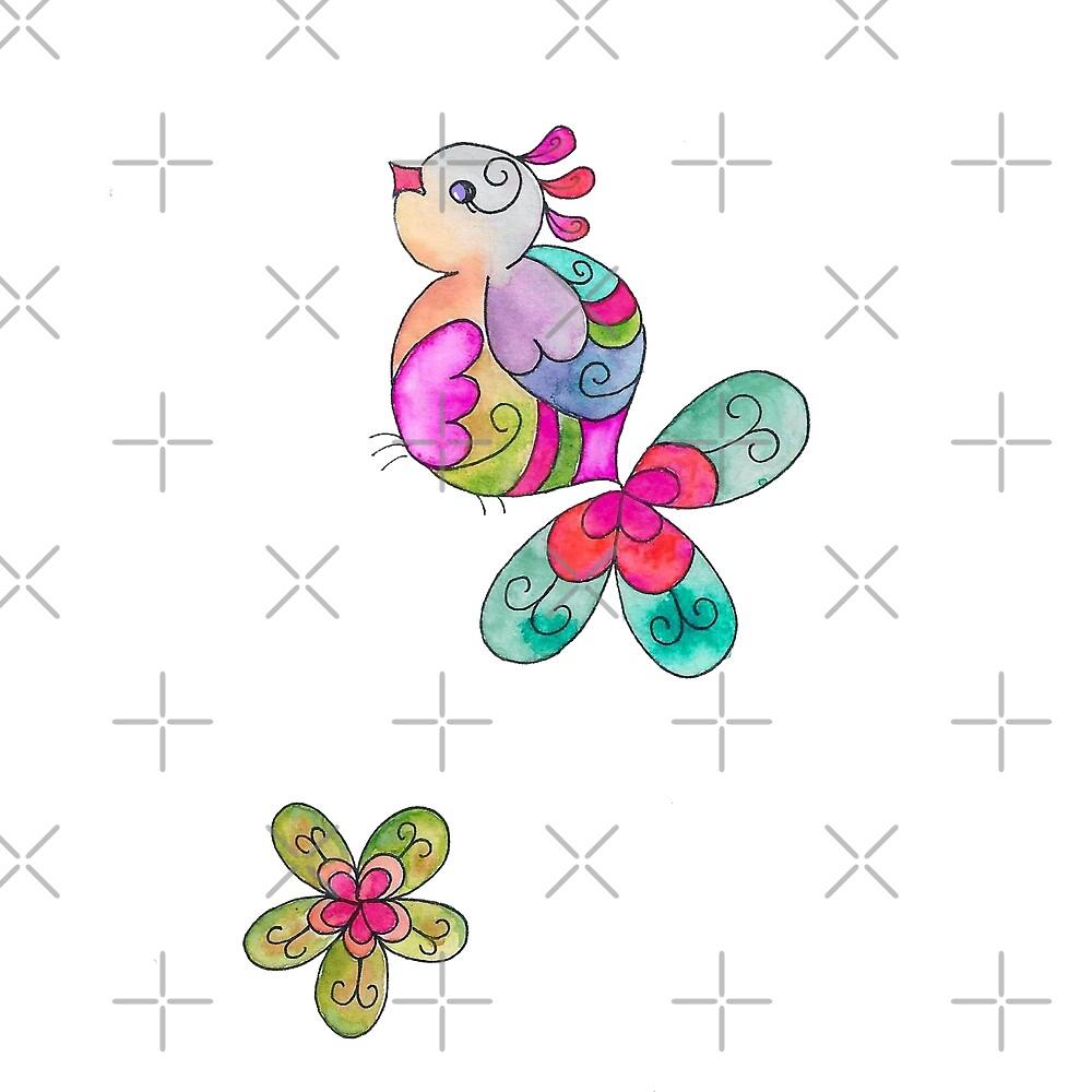 Spring bird by ohlapislazuli
