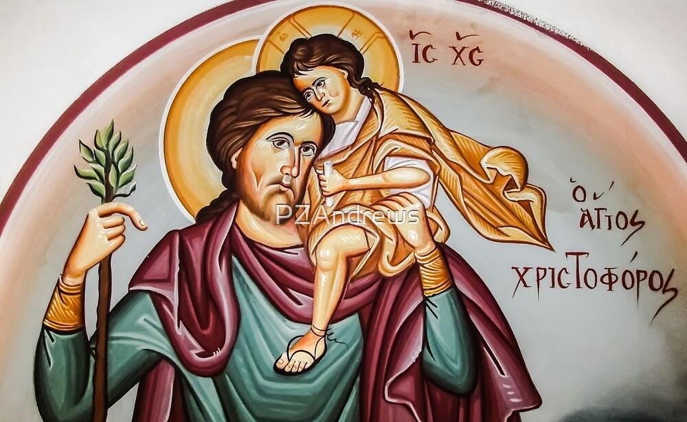 Saint Christopher by PZAndrews