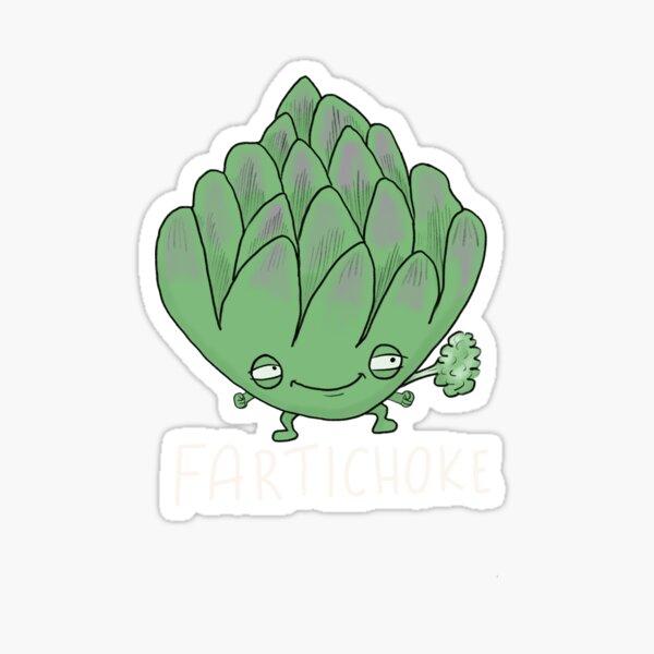Fartichoke Sticker