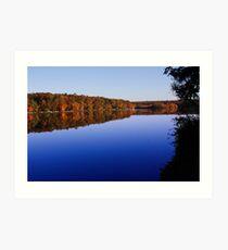Bear Creek Lake Revisited Art Print