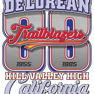 DeLorean 88 Trailblazers | Back To The Future by SpeedFreakTees