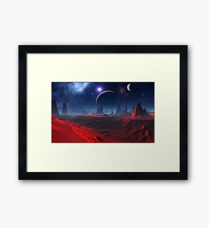 Spiritseeker Framed Print