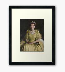 Australian Wattle Queen Framed Print