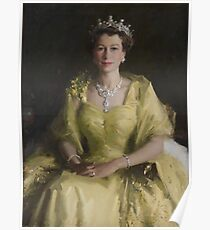 Australian Wattle Queen Poster