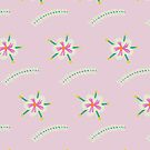 Spring Florals (Soft Pink) by Catalina Villegas