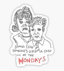 Mondays Sticker