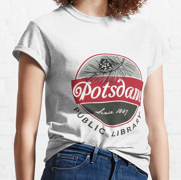 Potsdam Public Library Logo Classic T-Shirt