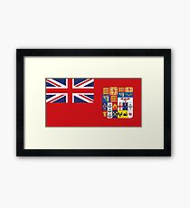 Dominion Flag Framed Print