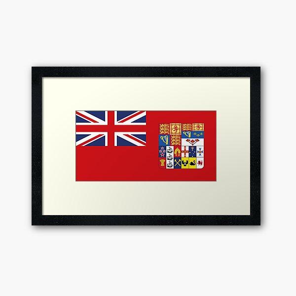 Dominion Flag Framed Art Print