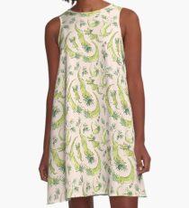Croc-a-smile A-Line Dress
