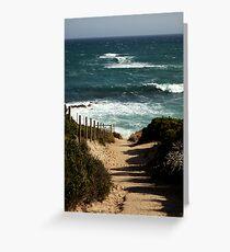 Koonya Ocean Beach,Mornington Pennisula Greeting Card