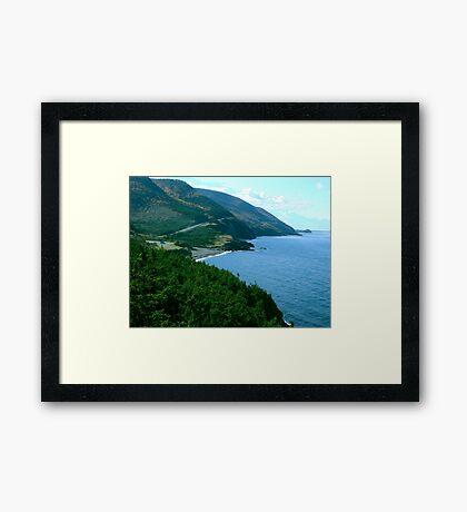 Cap Rouge, Cape Breton Island Framed Print