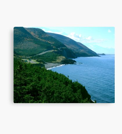 Cap Rouge, Cape Breton Island Canvas Print