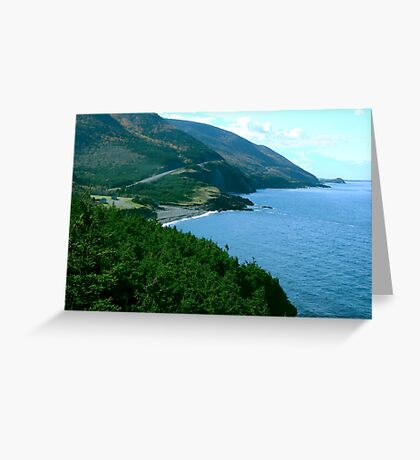 Cap Rouge, Cape Breton Island Greeting Card