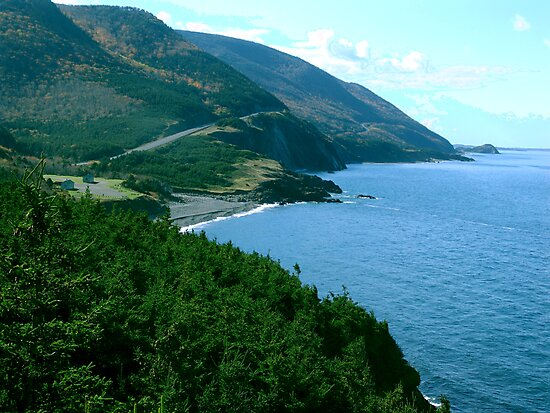 Cap Rouge, Cape Breton Island by George Cousins