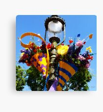 The Happiest Bouquet on Earth Canvas Print