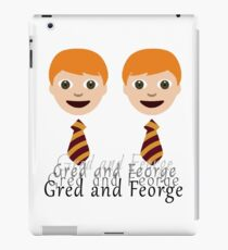 Gred and Feorge iPad Case/Skin