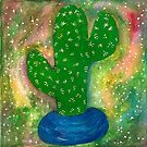 Prickly in Blue by Sara-H-Designs