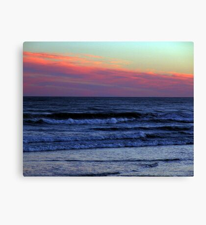 Red Sky At Night.. Canvas Print