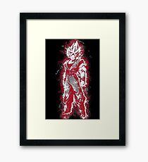 Aura Warrior RED Framed Print