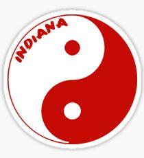 Iu Yin Yang Sticker