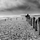 On Winchelsea Beach by Andy Coleman