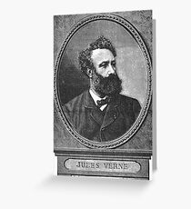 Jules Verne Greeting Card