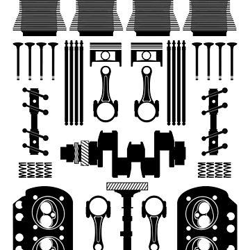 Air Cooled Flat Four (Black) by UKMatt2000