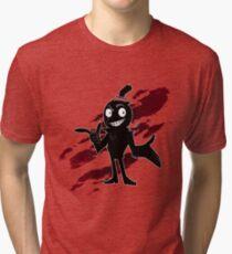 Red Mist Raven Tri-blend T-Shirt