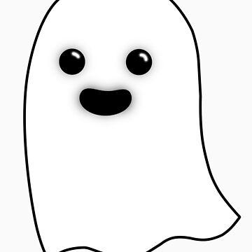 Horrifying Cute Ghost - Guy by joshernandez