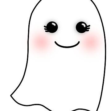 Horrifying Cute Ghost - Girl by joshernandez