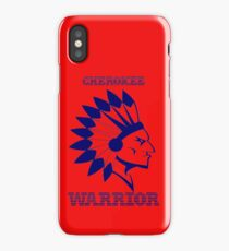 CHEROKEE WARRIOR iPhone Case/Skin